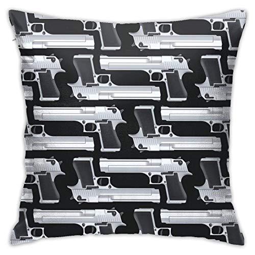 OUZHAN-1 Fundas de Almohada de Textura fluida Pistolas Funda de Almohada Funda de cojín Decoración Decorativa para el hogar