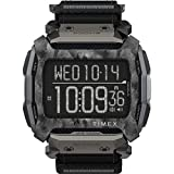 Timex Command Shock Digital CAT 54mm Watch – Black & Gray with Fast Wrap Strap