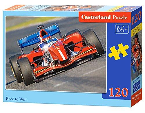 Race to Win 120 pcs Puzzle   Rompecabezas (Puzzle rompecabezas, Vehículos, Niños, Niño/niña, 6 año(s), Interior) , color/modelo surtido