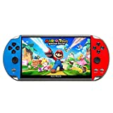 7-inch HD Screen Handheld Portable Video Games Dual Joystick Nostalgic Arcade Game Console 16GB Mmemory with Built in Games…
