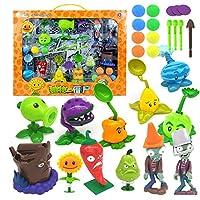本物の新しい役割の植物対ゾンビ2おもちゃ男の子の排出のためのフルセットギフトアニメ子供人形アクションフィギュアモデルおもちゃボックスなし
