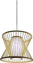 -C Houten Art Fish Line Kroonluchters, Restaurant Tea Room Lampen Nieuwe Chinese Club Hal Gangpad Lights C (Kleur: Beige)