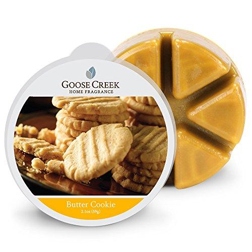 Goose Creek Burro Biscotto Candele di Cera, Marrone Chiaro