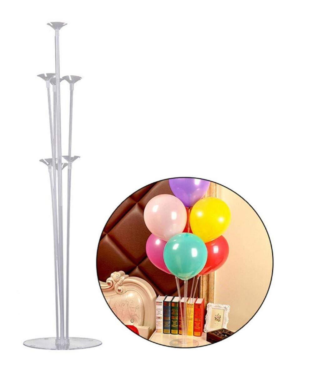 Geagodelia Kit de Soporte Globos Juego de Soporte para Globo de Mesa con 7 Palos 7 Tazas y 1 Base de Globos para Fiesta Cumpleaño Boda Coctel Banquete: Amazon.es: Juguetes y juegos