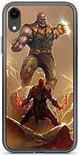 Thanos Avengerss Superhero Stan-Lee Comic Movie Stan-lee Vs Kratos Anti-Scratch Shockproof Case for iPhone XR