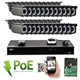GW 32 Channel 4K NVR 5MP Video Security Camera System - 24 x 5MP