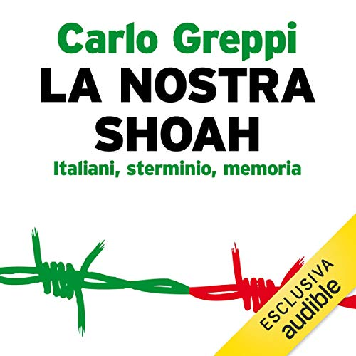 La nostra Shoah audiobook cover art