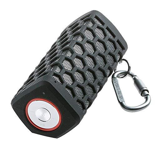 WleSpeakers Altavoz Bluetooth portátil, subwoofers, Sonido Extremadamente Potente y bajo, micrófono Incorporado para el iPhone, iPad, Samsung, Sony, HTC Smartphone Android,Black