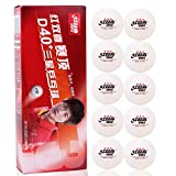 DHS ABS D40+ 3-Star White T. T. Ball, Table Tennis Ball of World Championship Official , 10 Balls / Box, 10...