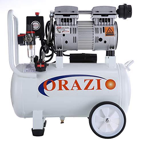 ORIZI 241184 Low Noise 24L Air Compressor