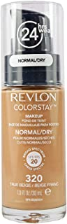 Revlon ColorStay Makeup Foundation for Normal/Dry Skin 30ml, 320 True Beige