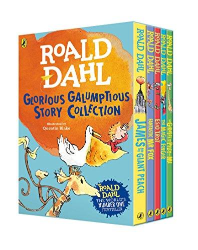 Roald Dahl's Glorious Galumptious Story Collection (Roald Dahl Box Set)
