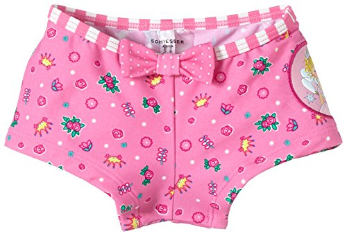 Schiesser Baby - Mädchen Bade-Shorts UV Schutz 40+ Prinzessin Lillifee, Gr. 74 (Herstellergröße: 413), Rosa (Rosé 506)