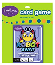 Robot Swat Card Game Party Accessory