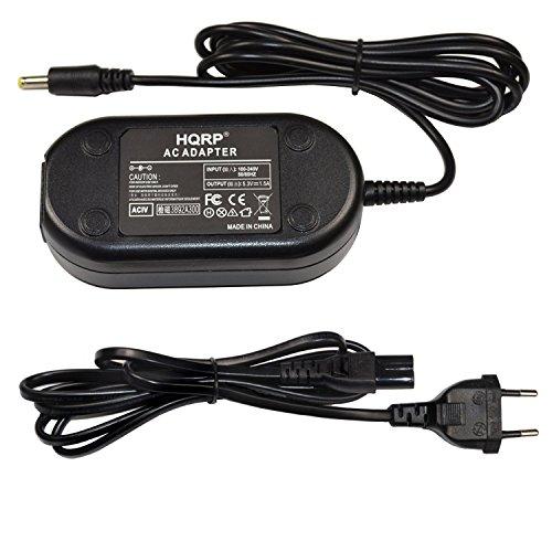 HQRP Netzadapter/Netzteil für Casio Exilim EX-Z700, EX-Z750, EX-Z850, EX-Z1000