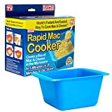 Rapid Mac Cooker | Microwave Macaroni & Cheese in 5 Minutes | Perfect for Dorm, Small Kitchen or...
