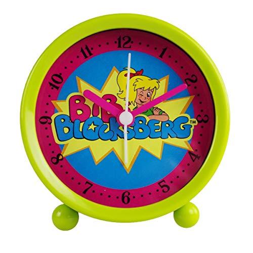Markenlos Kinderwecker Bibi Blocksberg grün Quarzwecker Wecker für Kinder Kinderuhr Uhr