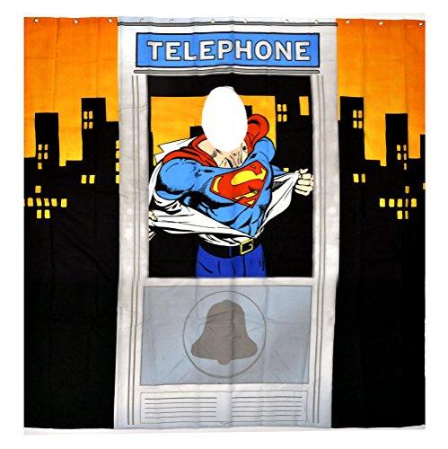 Klang & Kleid Duschvorhang Superman