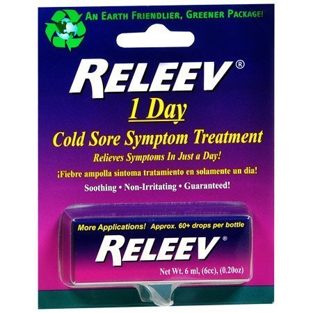 RELEEV 1 Day Cold Sore Treatment 6 mL (pack of 1)
