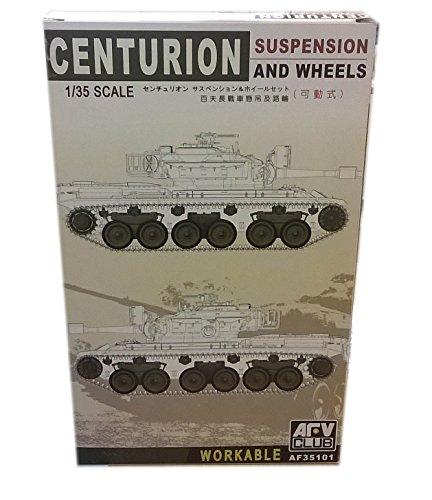 AFV Club 1:35 - Centurion Workable Suspension & Wheels - AFV35101