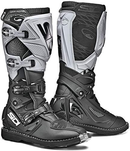 Sidi X-3 - Botas de motocross, color negro y gris