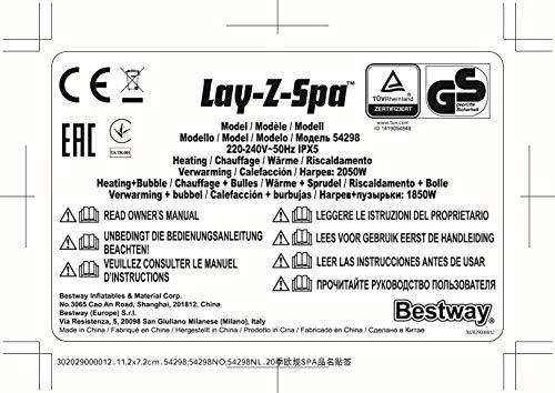 Bestway Lay-Z-Spa Miami AirJet - 24