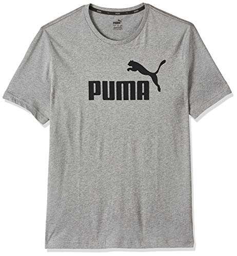 Puma 851740 T-Shirt Homme Medium Gray Heather FR: L (Taille Fabricant: L)