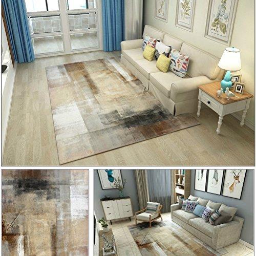WLH- Moderne minimalistische woonkamer Deken met salontafel Slaapkamer Volledige Bureau Nordic Rechthoekige (Color : B, Size : 120x160cm)