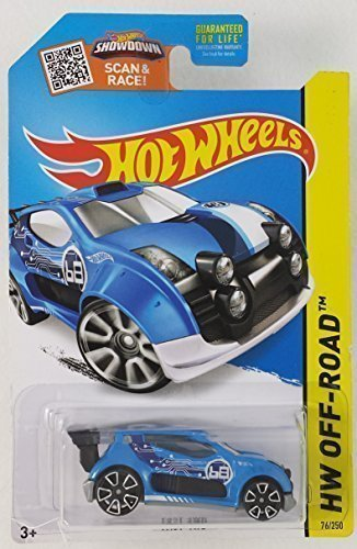 Hot Wheels HW Off-ROAD 2015 Showdown Scan & Race! Blue Fast 4WD 76/250 by Hot Wheels