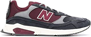 Luxury Fashion | New Balance Men MSXRCFB Burgundy Leather Sneakers | Autumn-winter 19