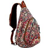 Best Sling Backpacks - BAOSHA Sling backpack Crossbody Shoulder Chest Bag Travel Review
