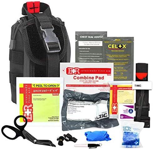 Meditac Premium Tactical Trauma IFAK Kit with Tourniquet Celox Hemostatic Granules and Pressure product image