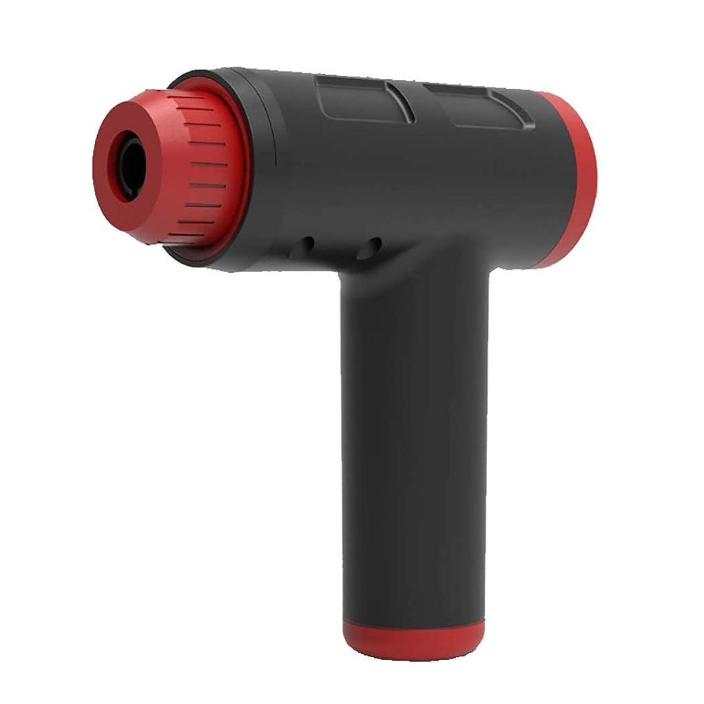 割れ目ミス指紋個人的な手持ち型の打楽器、調整のための6つの頭部が付いている完全なボディ救助を提供するためのFascia銃の深いティッシュ筋肉マッサージャー