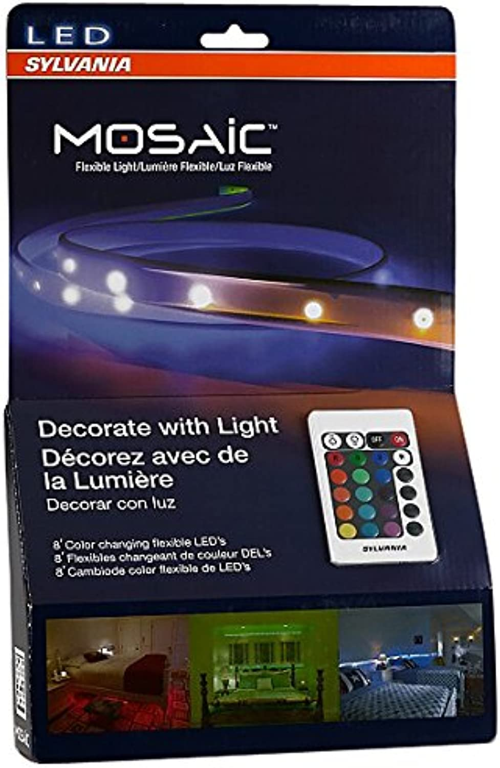 Sylvania Home Lighting 72344 Mosaic Flexible Light Kit, Led, White