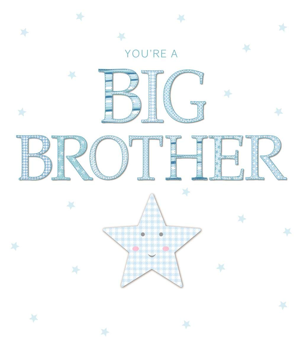 You're a Big Brother ~ New Baby Card