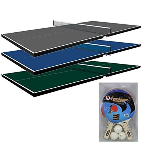 Martin Kilpatrick Ping Pong Table for Billiard Table | Conversion Table Tennis Game Table | Table Tennis Table| Conversion Top for Pool Table Games