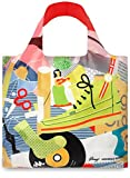 LOQI Artist Everything Reusable Shopping Bag, Multicolored