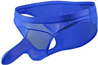 Mens Long Sheat Bulge Sleeve Lingerie Briefs Triangular JJ Sets Underwear