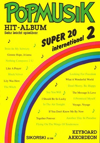 Popmusik Hit-Album Super 20: International 2