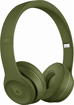 Beats Solo3 Wireless On-Ear Headphones - Neighborhood Collection - Turf Green (Refurbished)