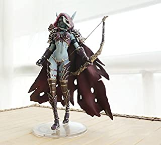 WOW Wrath of the Lich King Lady Sylvanas Windrunner PVC Figure Doll Toy World of Warcraft Toy Model