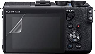 Celicious Vivid unsichtbare, glänzende HD Schutzfolie, kompatibel mit dem Canon EOS M6 Mark II [2er Pack]