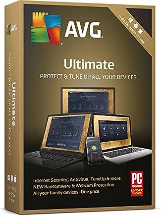 Retail ABC scarica AVG Ultimate Protection | 2018| 1anno Unlimited dispositivi vecchi e nuovi clienti–protegge tutti i Android, Windows e Mac OS X * LEGGERE la descrizione per il lavaggio
