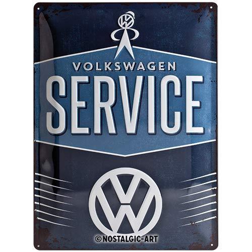 Nostalgic-Art 23209 Volkswagen - VW Service, metalen bord 30 x 40 cm