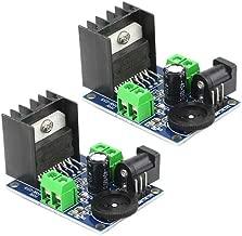 XLX 2PCS TDA7297 Dual-Channel Digital Audio Power Amplifier Board Module Power Input Mode 4-8 Ohms 10-50W Speakers Audio Amplifier Module Converter for DCPower Supply Audio System DIY Speakers