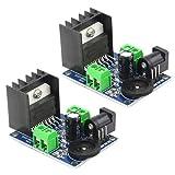 XINGYHENG 2Pcs TDA7297 Dual-Channel Audio Power Amplifier Board Module Power Input Mode 4-8 Ohms 10-50W Speakers Audio Amplifier Module Converter for DCPower Supply Audio System DIY Speakers
