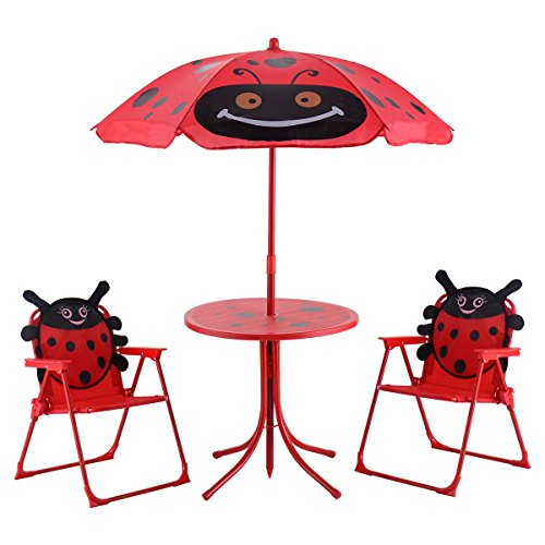 Price comparison product image EZ FunShell Chairs Table Set,  Red