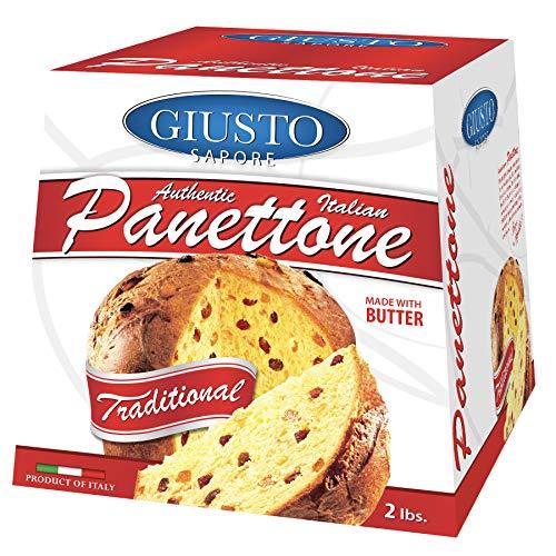 Giusto Sapore Italian Panettone Original Gourmet Bread 2Lb Only $8.99 (Retail $14.99)