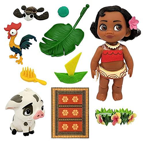 Disney Moana Animators' Collection Mini Doll Play Set – 5 Inches