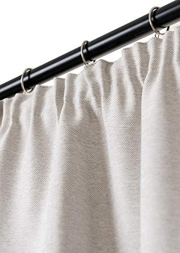 Rollmayer Vorhang mit Bleistift MELO (C5 Cream, 140x240 BxH). Blickdicht Gardinen für Schlafzimmer, Kinderzimmer, Wohnzimmer